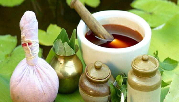 Ayurvedic Oil with Potli