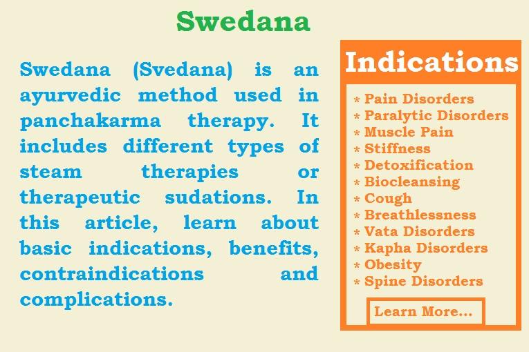 Swedana Svedana Sudation