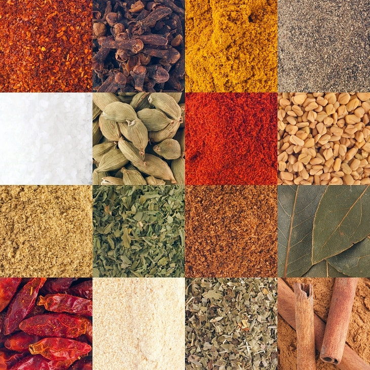 Garam Masala Ingredients