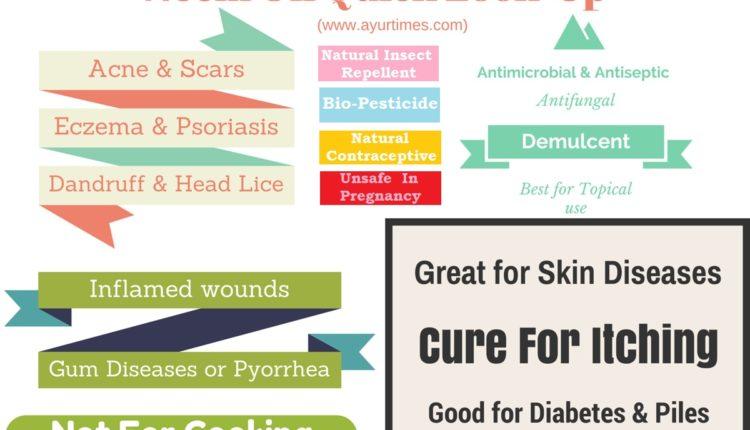 Neem Oil Quick Look-Up Infographic