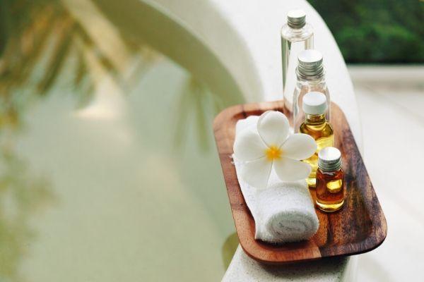 Avagaha Sweda Bath Tub with Herbal Water