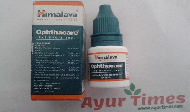 Ophthacare Eye Drops (Himalaya) Ingredients