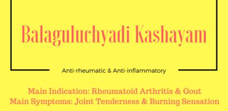 Balaguluchyadi Kashayam