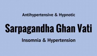 Sarpagandha Ghan Vati