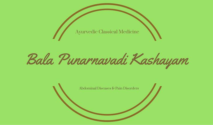Bala Punarnavadi Kashayam