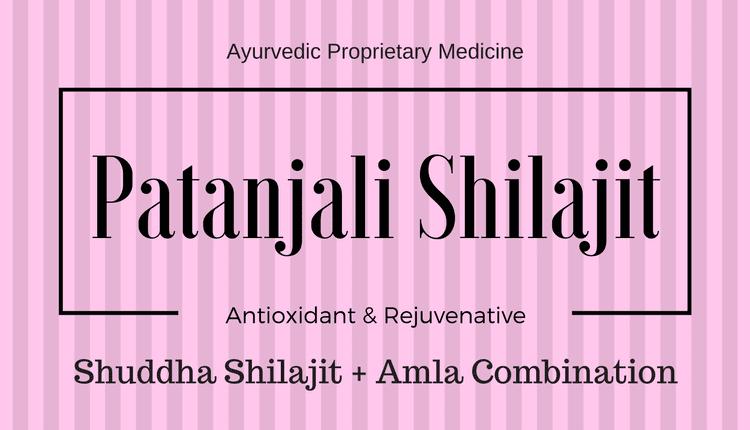 Patanjali Shilajit