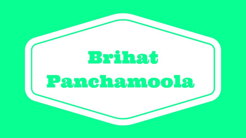 Brihat Panchamoola