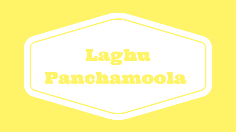 Photo of Laghu Panchamoola