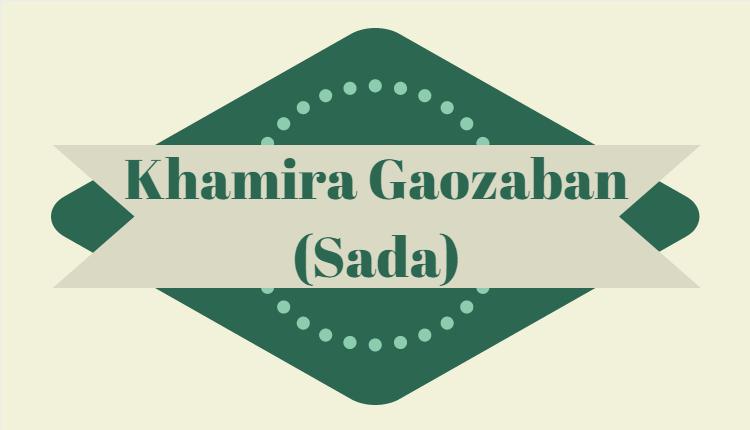 Khamira Gaozaban Sada