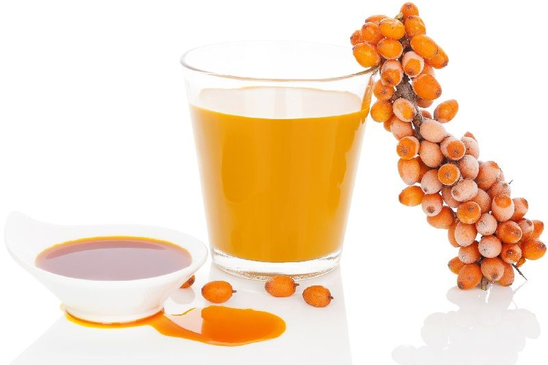 Sea Buckthorn Oil, Juice and Berries