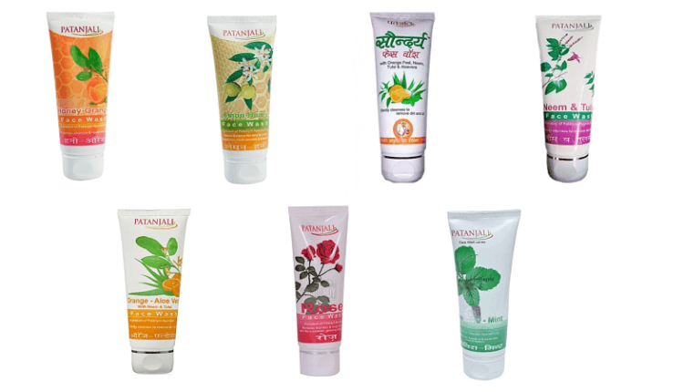 Patanjali Face Wash Products