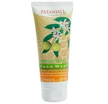 Patanjali Lemon Honey Face Wash