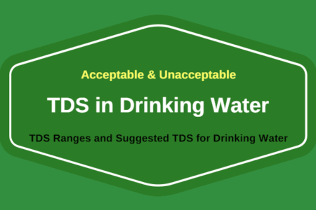 Minimum And Maximum Acceptable Tds Level In Drinking Water