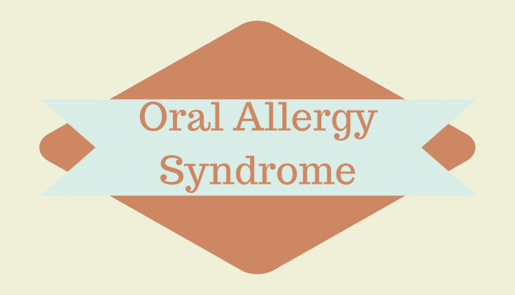 Photo of Oral Allergy Syndrome