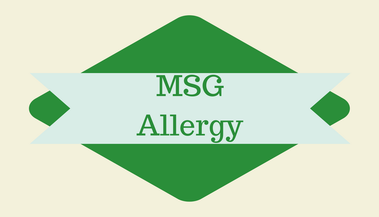 Photo of MSG Allergy