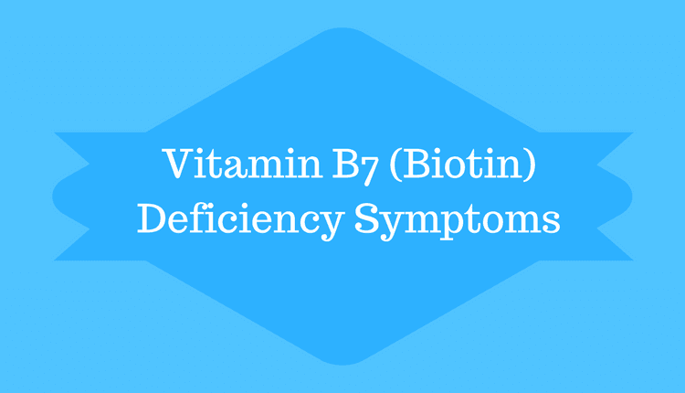 Photo of Vitamin B7 (Biotin) Deficiency Symptoms