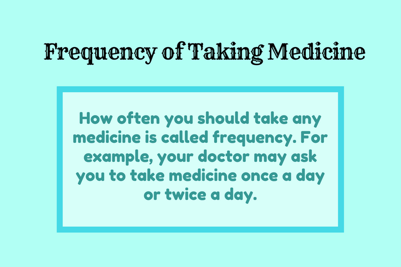 Photo of Dosage Frequency: Frequency of Taking Medicine