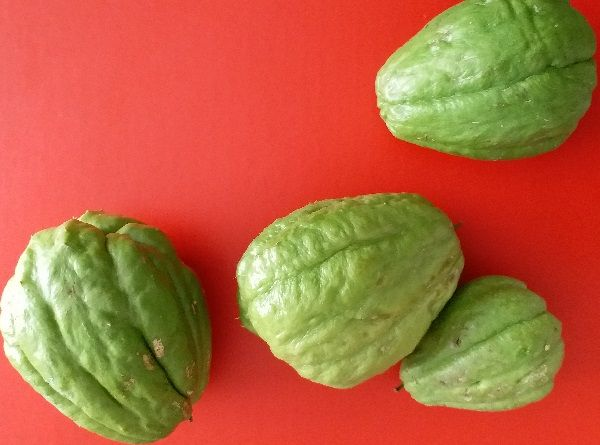 Chayote Pear Shaped Vegetable