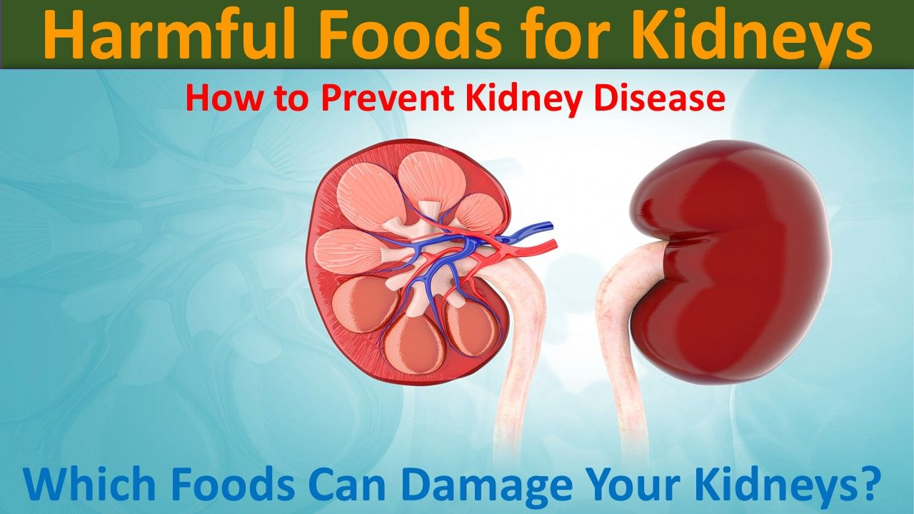 Photo of Harmful Foods for Kidneys