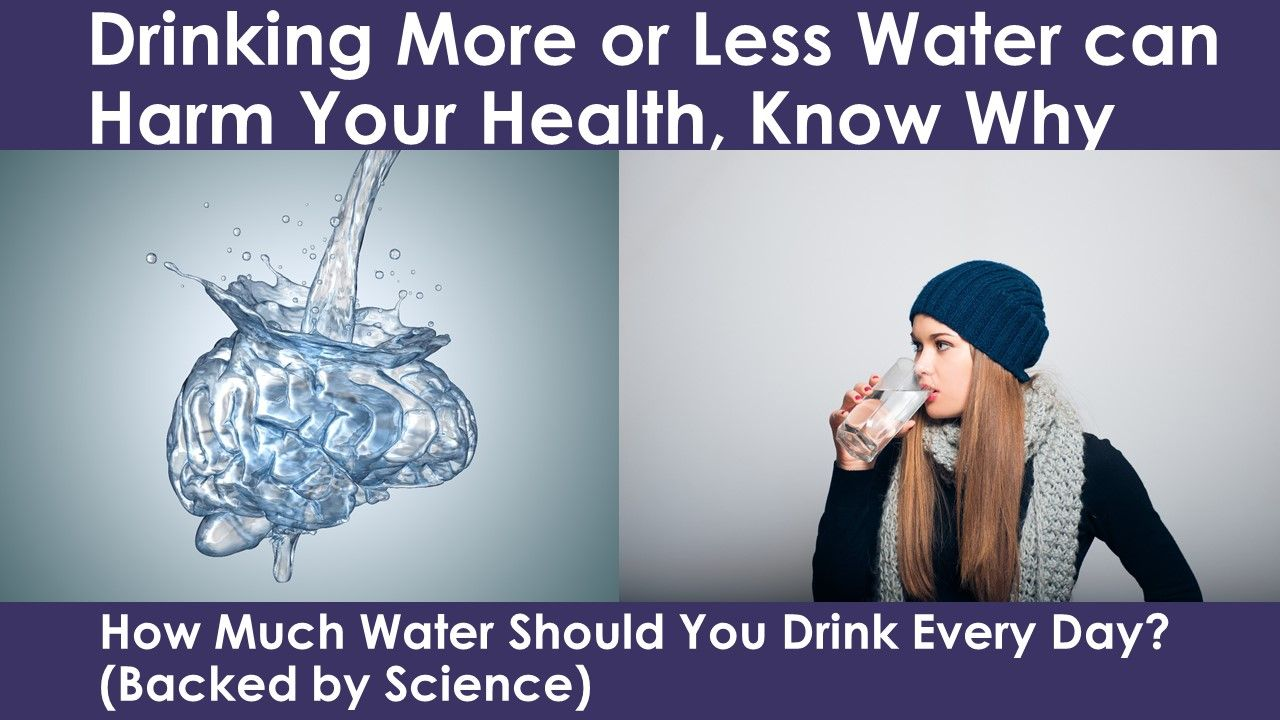 How Much Water Should You Drink Every Day According to Science