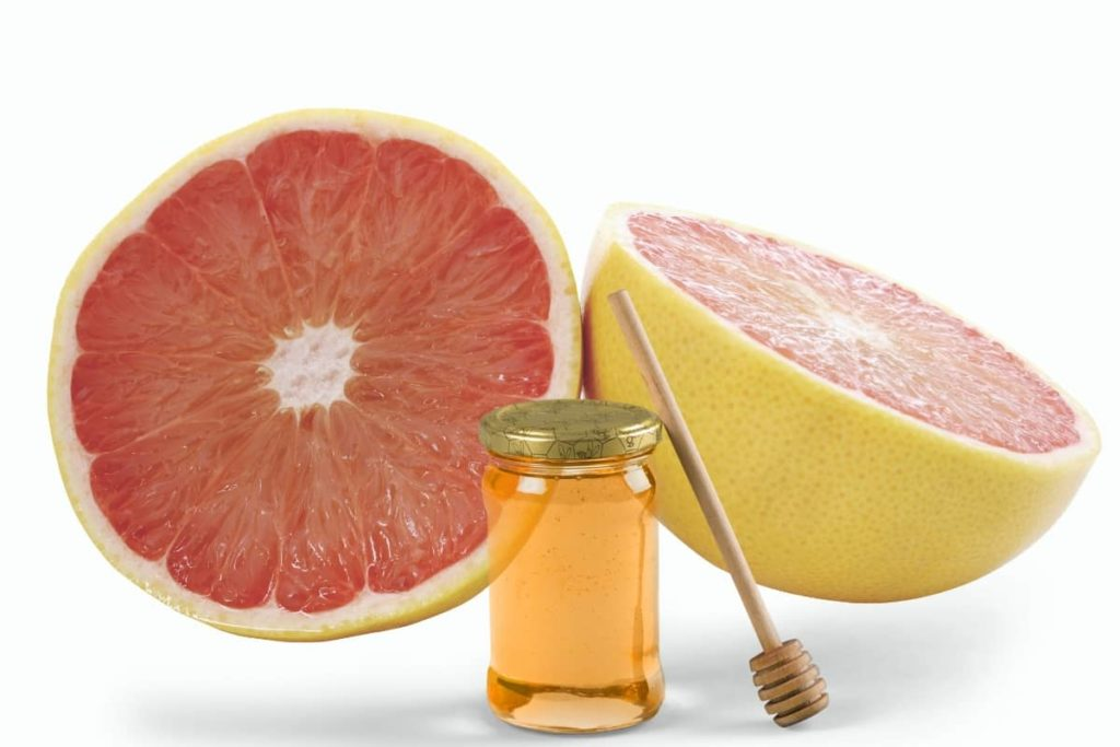 Grapefruit with Honey