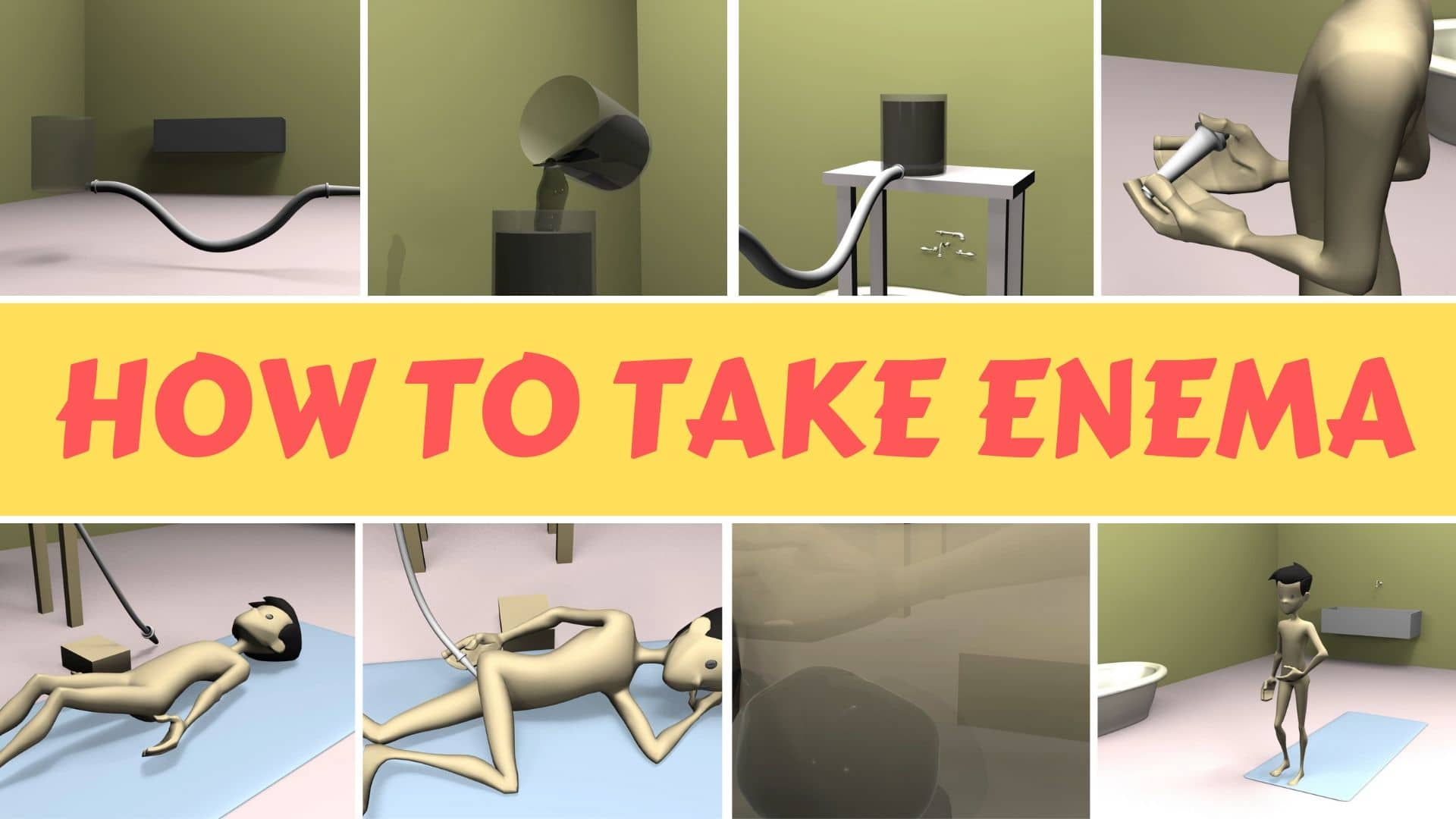 Photo of How to Take Water Enema