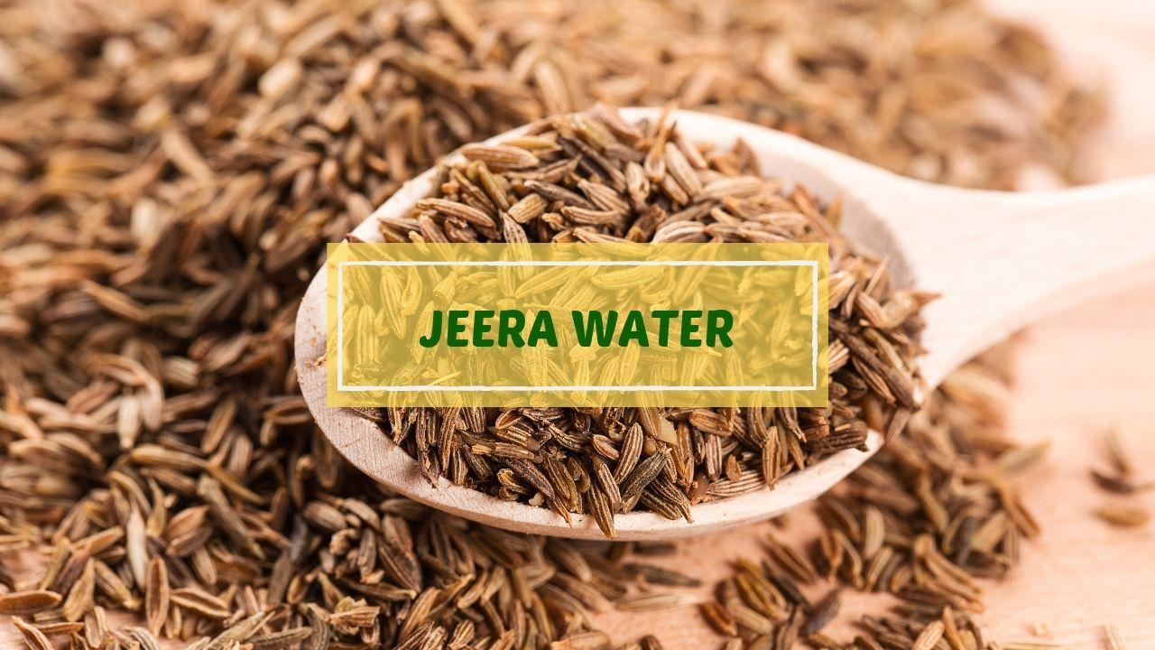 Jeera Water
