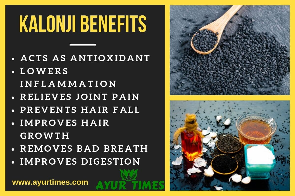 Kalonji Benefits