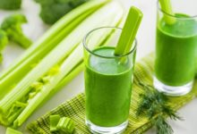 Celery Leaves and Juice