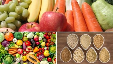 Fruits Vegetables and Whole Grains for Stabilizing Phase Diet