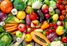 Fruits and Vegetables for Healing Phase Diet