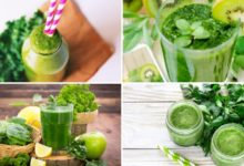 Green Herbs' Smoothie