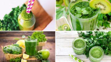 Green Herbs' Smoothie